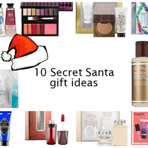 10 secret santa beauty gift ideas for under 20 swatch and review. Black Bedroom Furniture Sets. Home Design Ideas