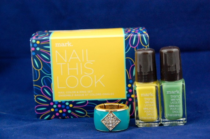Avon mark. Nail This look Seafoam and Sunsation nail polish