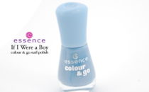 Essence If I Were a Boy colour & go nail polish review