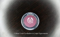 The Body Shop Colour Crush Eyeshadow in Grape Expectations review
