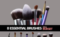 GUEST POST: Eight Essential Brushes on a Budget