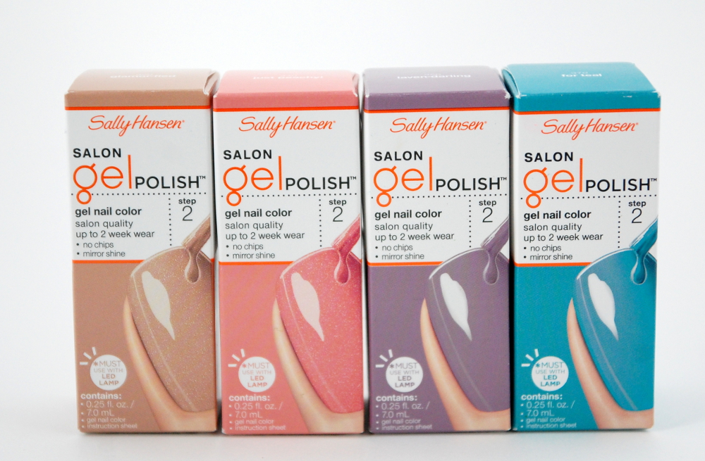 Sally hansen salon gel polish kit - Chicago flower & garden show