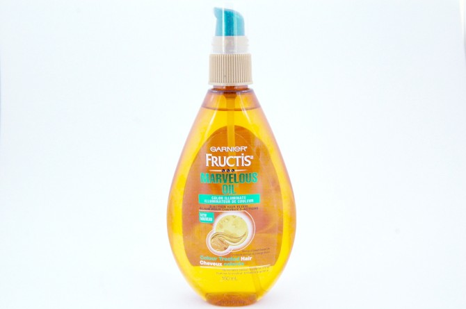 Garnier Fructis Marvelous Oil Color Illuminate review