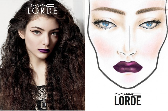 MAC Cosmetics x Lorde Summer 2014 collection