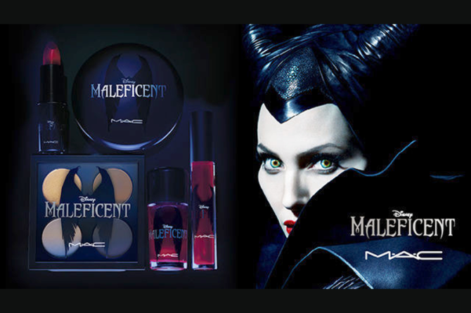 MAC Cosmetics x Disney's Maleficent Summer 2014 Collection Information