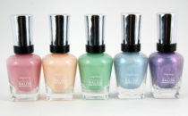 Sally Hansen Pastels on Pointe Spring 2014 nail polish collection