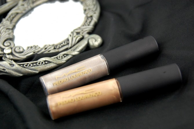 MAC Cosmetics Pedro Lourenco Gold Mirror and Mirror lipglass review