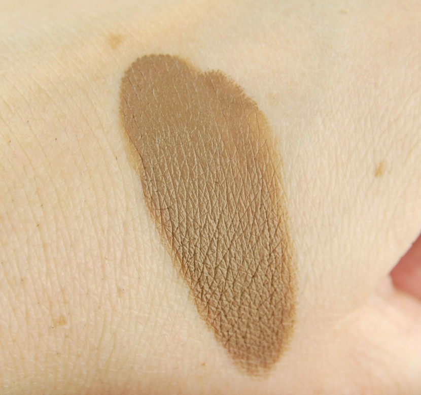 Make Up For Ever Aqua Brow 15 Blonde review swatch 2
