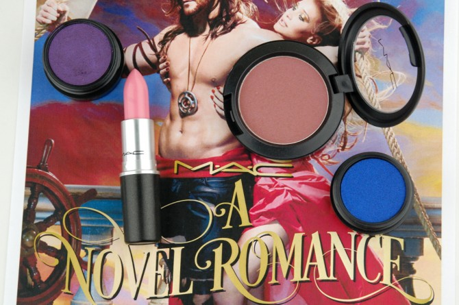 MAC Cosmetics A Novel Romance look and review