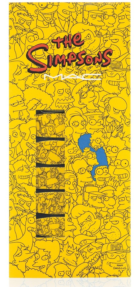 MAC Cosmetics The Simpsons Marge Simpsons Cutie-cles nail stickers