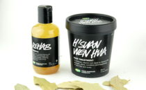 LUSH Rehab Shampoo and H'Suan Wen Hua hair treatment review
