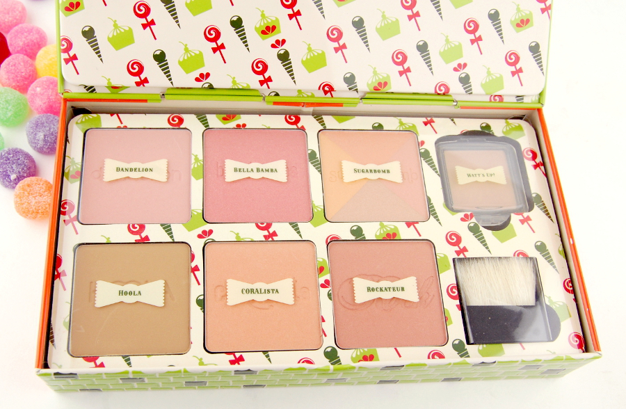 Benefit Cosmetics Cheeky Sweet Spot Box O Blushes Palette review 6