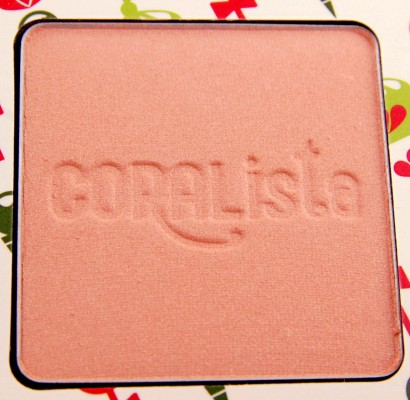 Benefit Cosmetics Cheeky Sweet Spot Box O Blushes Palette review Coralista blush
