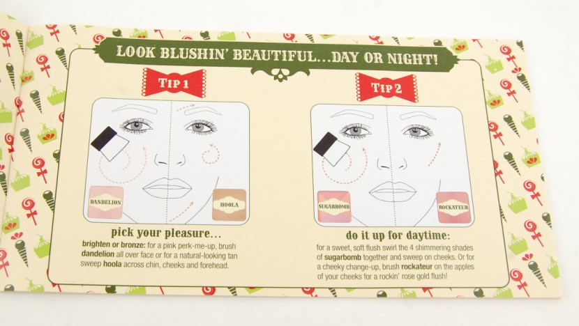 Benefit Cosmetics Cheeky Sweet Spot Box O Blushes Palette review Tips 1