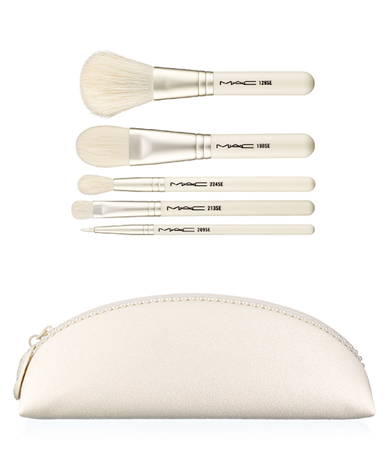 MAC Cosmetics Keepsakes Collection Holiday 2014 Studio brush kit