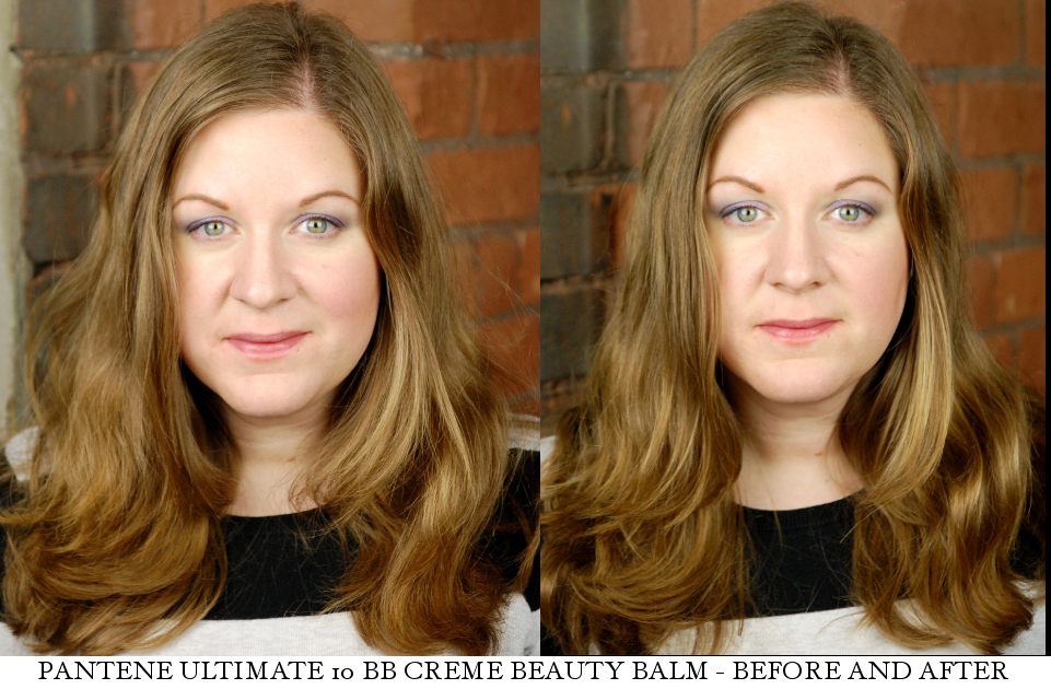 Pantene Ultimate 10 BB Creme Beauty Balm before after demo review