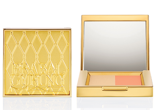 MAC Cosmetics Prabal Gurung Holiday 2014 Satin Ochre eyeshadow duo
