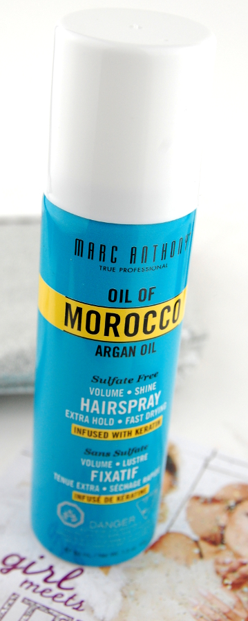 marc anthony oil of morocco argan oil hair spray
