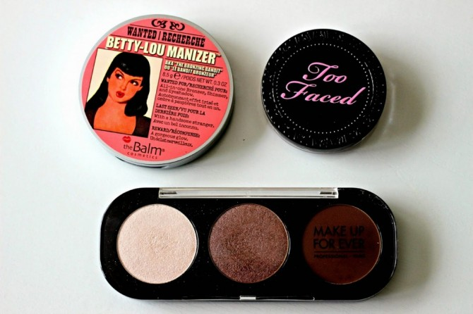 Multi-tasking with The Balm, MUFE and Too Faced!