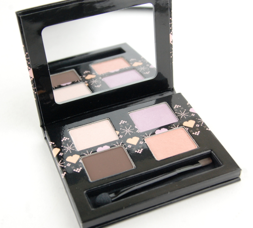 The Body Shop Dolly Pastels eyeshadow palette inside
