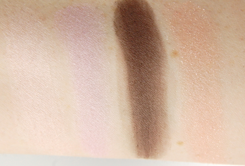 The Body Shop Dolly Pastels eyeshadow palette swatch