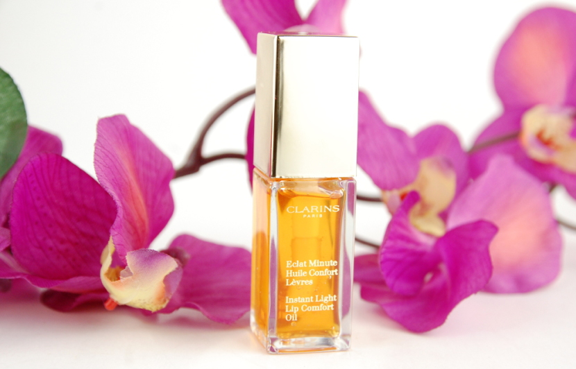 Clarins Instant Light Lip Comfort Oil Honey review