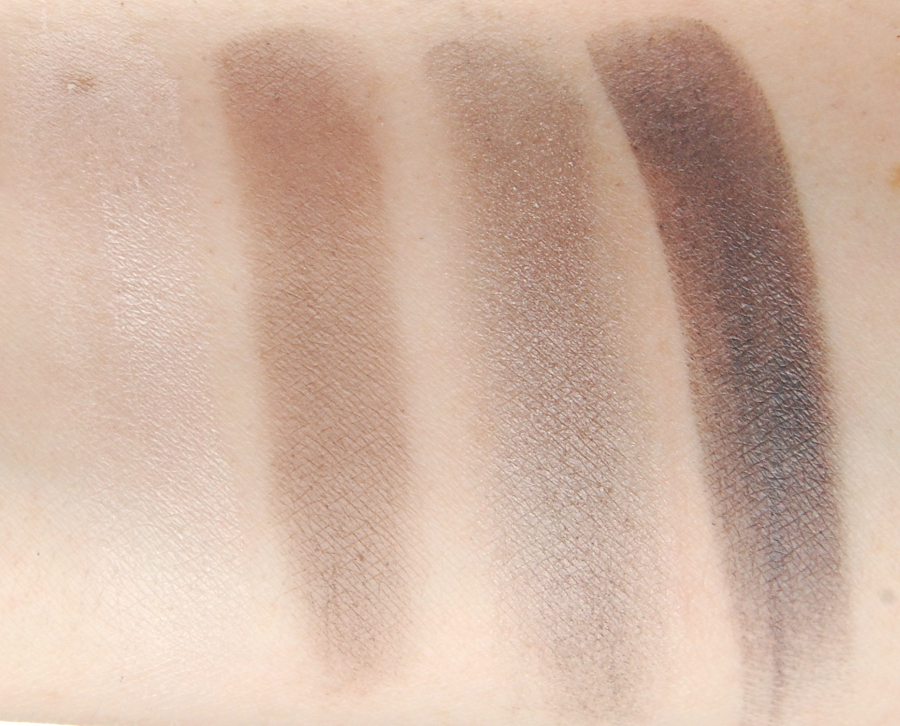 Clinique All About Shadow Wear Everywhere Greys swatches 1
