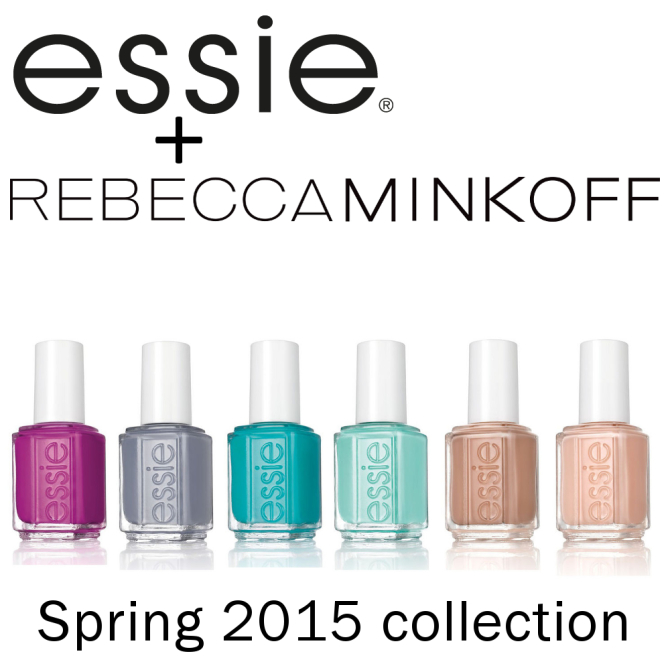 essie + Rebecca Minkoff Spring 2015 nail polish collection #essielove