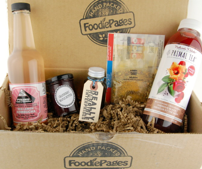 Foodie Pages: Tasting Box for February 2015