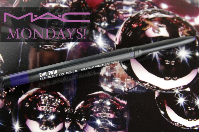 MAC Cosmetics Fluidline Eye Pencil in Evil Twin review