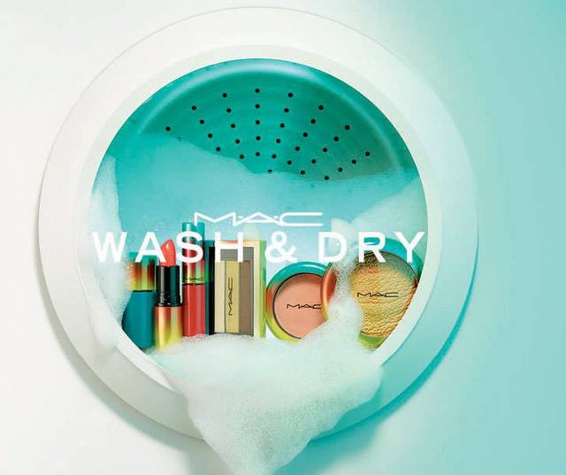 MAC Wash and Dry Summer 2015 Collection information
