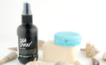 Beach Hair Without the Beach: LUSH Seanik Shampoo, BIG Conditioner and Sea Spray review