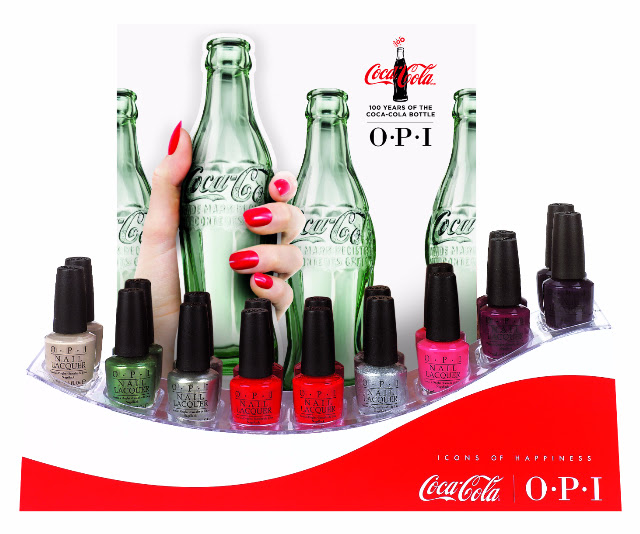 OPI Nail Polish Celebrates 100 Years of the Coca-Cola Bottle!