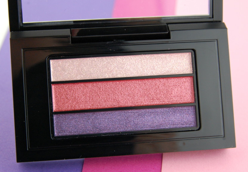 MAC Cosmetics Veluxe a Trois Pearlfusion Trio Claretluxe review 2