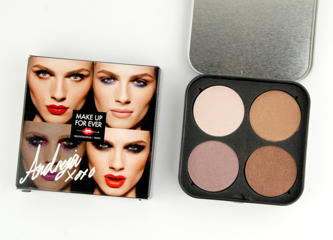 MAKE UP FOR EVER Be Bold. Be Unexpected. Be You. Artist Shadow Palette by Andreja Pejic