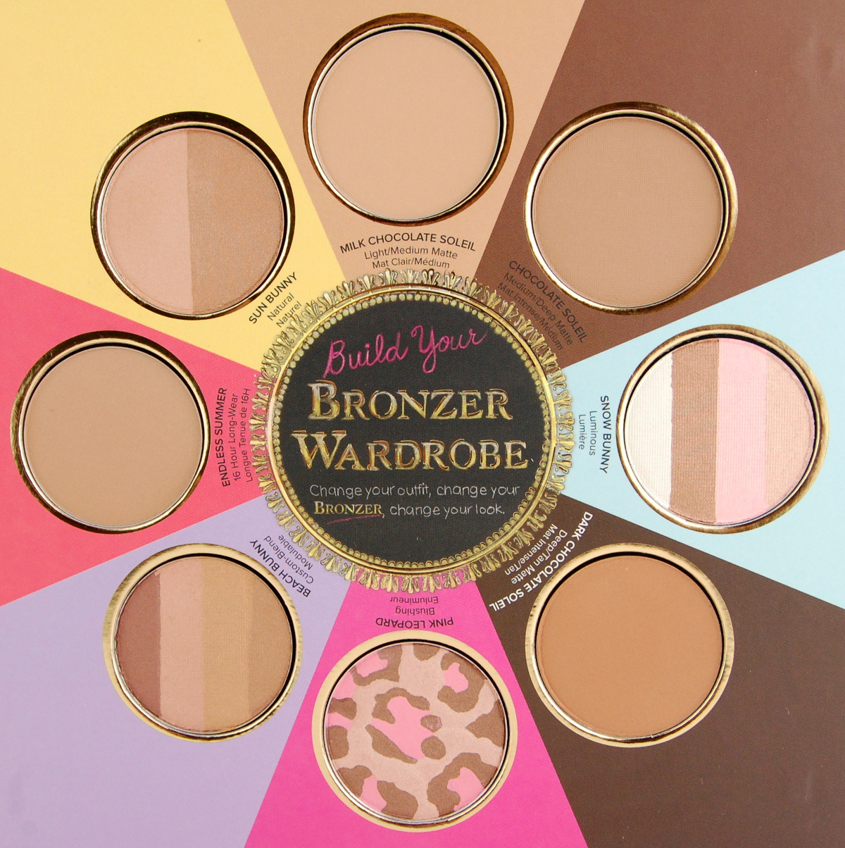 Chocolate Bronzer Too Faced - Pumpkin Chocolate Chip Cookies
