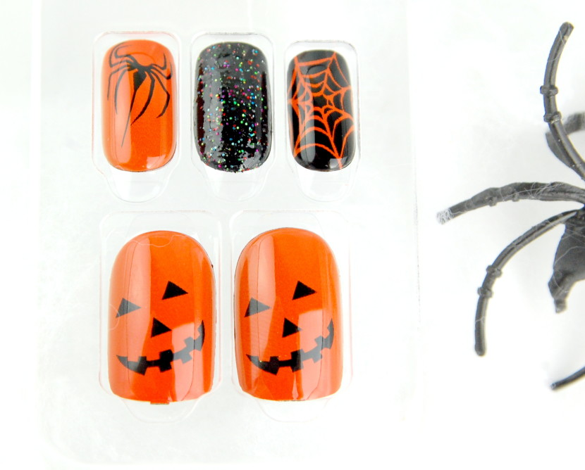 Broadway Nails imPRESS Press-on Manicure nails Halloween 2015 Cauldron
