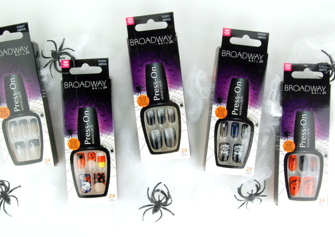 Broadway Nails imPRESS Press-on Manicure Halloween 2015 Nails!