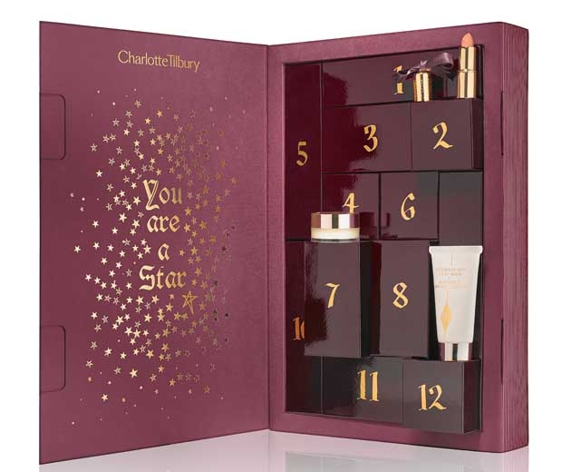 Charlotte Tilbury The Book of Makeup Magic Advent Calendar for Holiday 2015