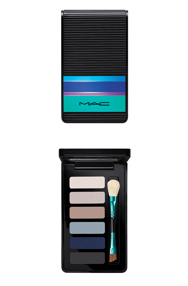 MAC Cosmetics Enchanted Eve Holiday 2015 Eyes Palette Navy