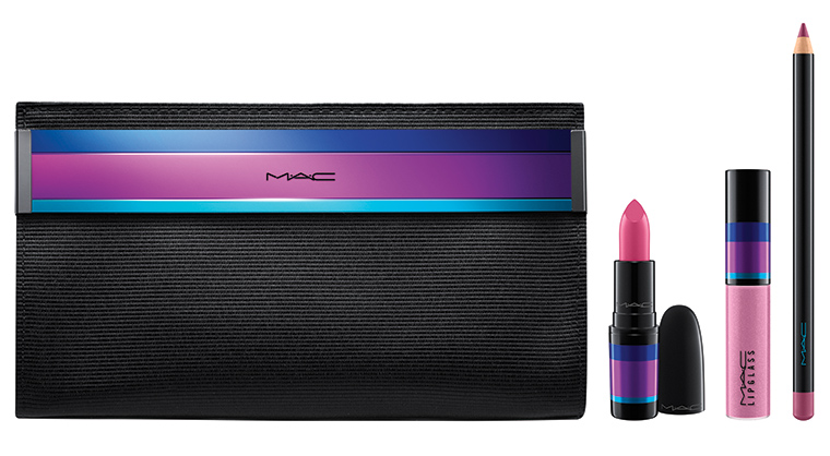 MAC Cosmetics Enchanted Eve Holiday 2015 Lip Bag Pink