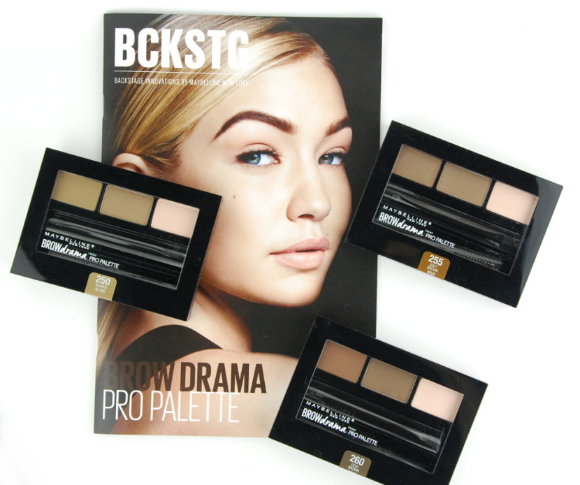 Maybelline Brow Drama Pro Palette review
