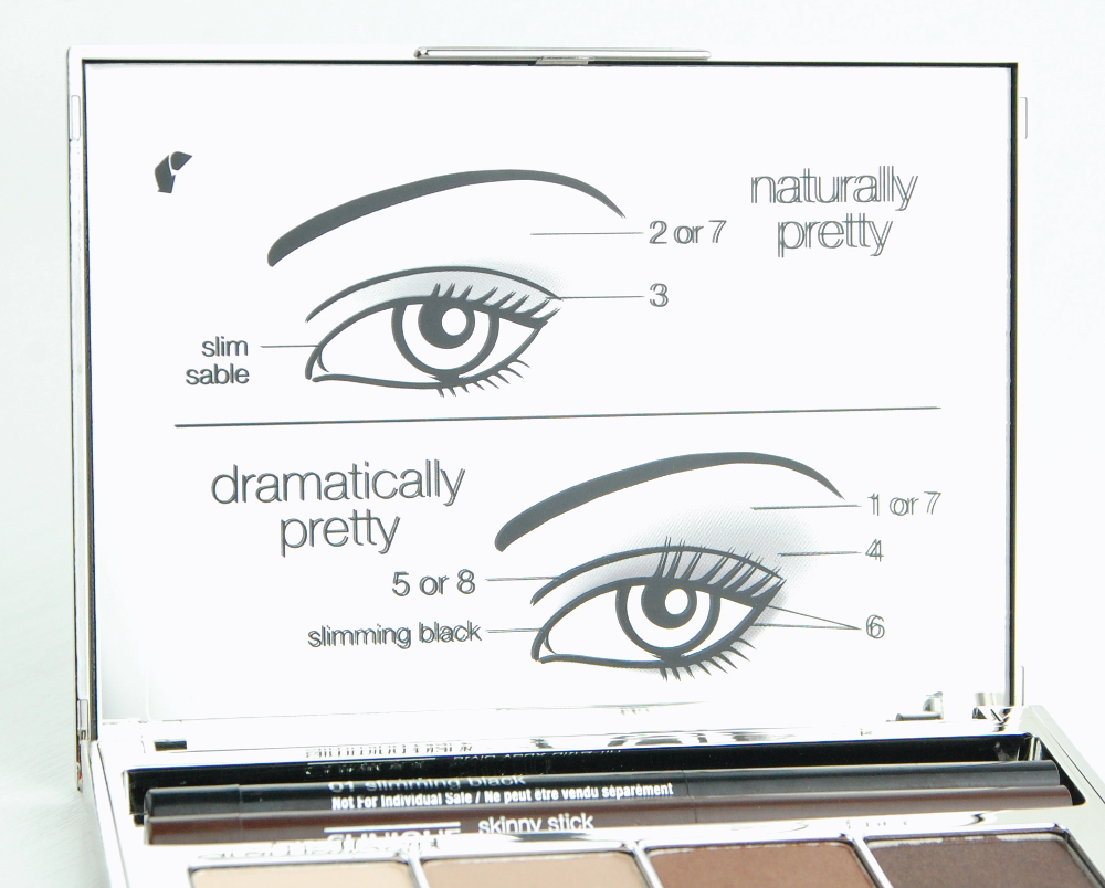 Clinique Pretty Easy Eye Palette looks