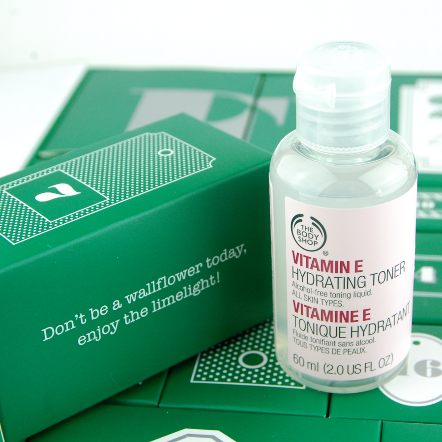 Day 7 The Body Shop 24 Happy Days Advent Calendar 2015 Vitamin E Toner