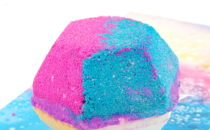 LUSH Cosmetics The Experimenter bath bomb review #BathArt