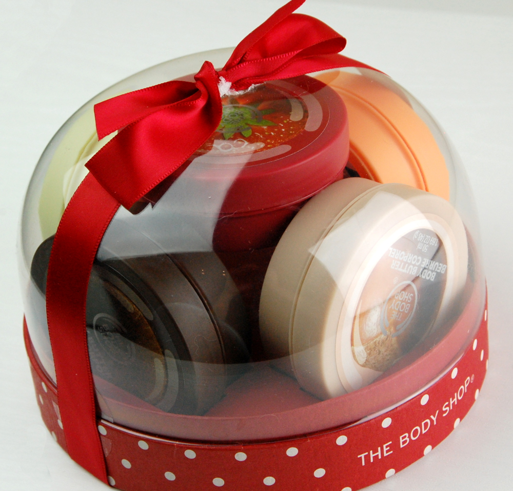 The Body Shop holiday 2015 Best of Body Butter Festive Dome 2