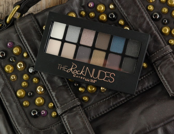 Maybelline The Rock Nudes eyeshadow palette review