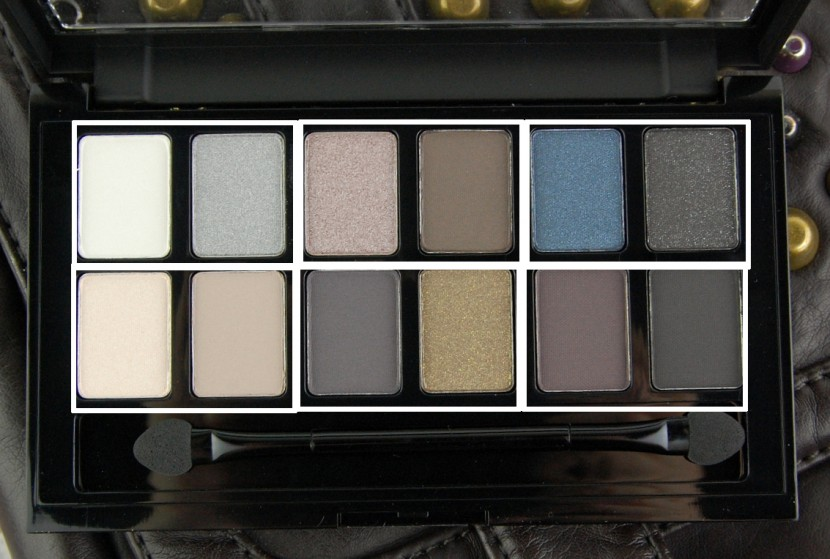 Maybelline Rock Nudes eyeshadow palette review duos