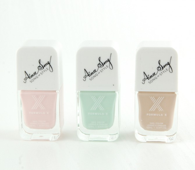 Formula X #ColorCurators Nail Polish: Song of Style Edition for January review