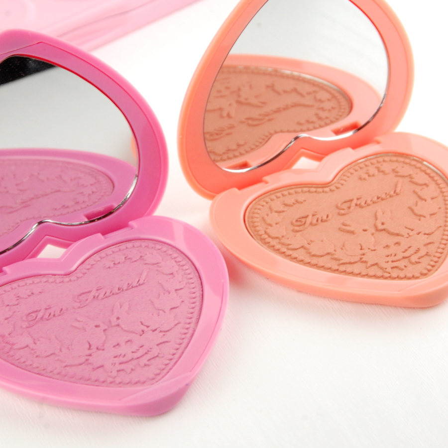 Too Faced Love Flush Blush Justify My Love I Will Always Love You review 2